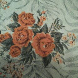Fabric linen USSR for curtains.