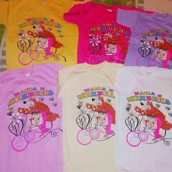 Kızlar için t-shirt