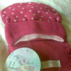 Set new hat and scarf size 40-42