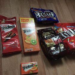 M & M'nin Şekerleri, Trident ABD Çiğniyor