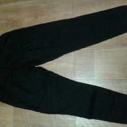 Trousers female r 46-48 a bottom on elastic bands