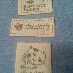 Stripes for children's clothing.