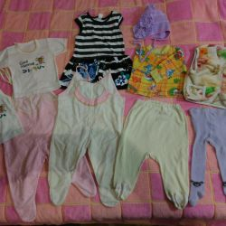 Things for baby from birth to 1.5 years
