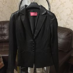 Leather jacket new from the store
