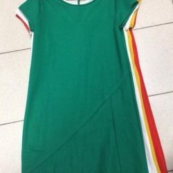 New, green and red tunics