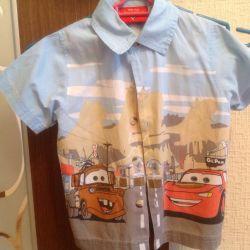 4-6 yaş çocuk için gömlek.