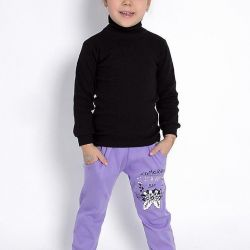 Trousers for the girl, 100% cotton, Russia