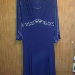 Φόρεμα p.56-58 όμορφο, κομψό, σκούρο μπλε
