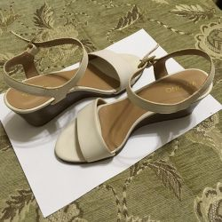 Sandals wedding Leather new 36 r