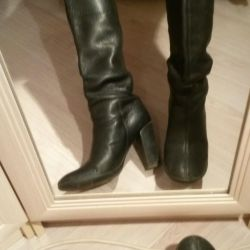 Leather Boots 39 p.