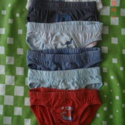 Panties for 1-3 years (package)
