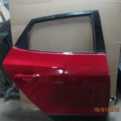 Ușă înapoi roșu Hyundai IX 35