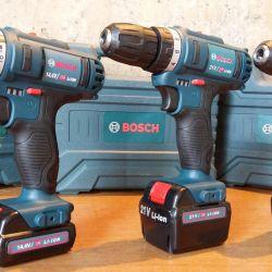 Bosch 12V, 14,4V, 21V, 26V Κατσαβίδι Νέα
