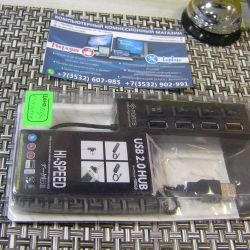 Assorted USB hub for 4 ports (warranty)