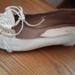 Leather shoes 39 size