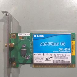 беспроводной PCI-адаптер D-Link AirPlusG DWL-G510.