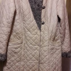 Coat stitched