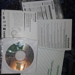 Продам документы с установочным диском фотоаппарат