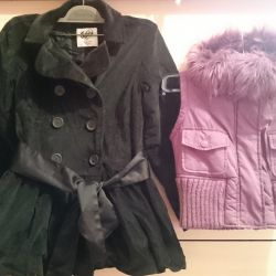 Coat and vest. 7-8 years.