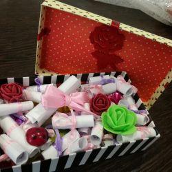 box For girlfriend happy birthday