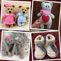 Toys booties hats