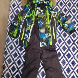 Jumpsuit + jacket winter