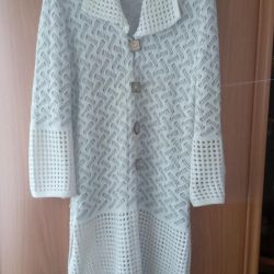 Selling a long, feminine cardigan