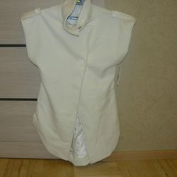 New coat-sleeveless vest