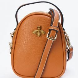Faux leather bag. New.
