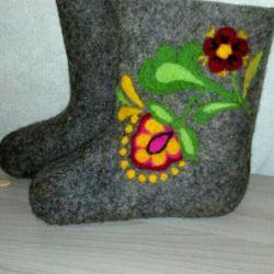 New felt boots 17 cm