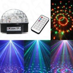 Πολυλειτουργική οθόνη disco LED με τηλεχειριστήριο