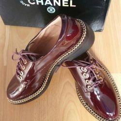 Pantofi din piele natur