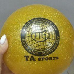 Ball for the artists. gymnastics 16cm