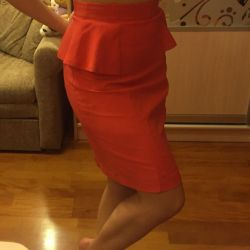 Exclusive skirt with basque