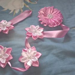 Bows and bandages for handmade hair