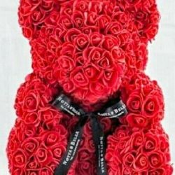 Bears from 3D roses