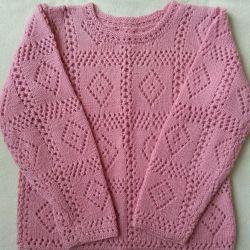 NEW handmade lace sweater