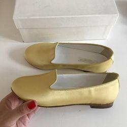 New silk shoes Dolce & Gabbana 31 p