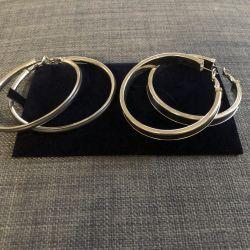 Σκουλαρίκια Hoop