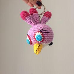 Keychain angry birds