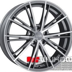 Τροχοί OZ Racing Envy 7,5x16 PCD 5x105 ET 35 DIA 56,6 Ματ Silver Tech + Diamond Cut