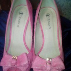 Βελούδινα παπούτσια