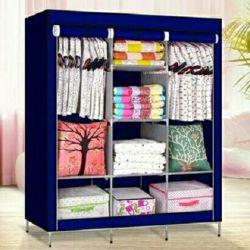 Cloth foldable cabinet