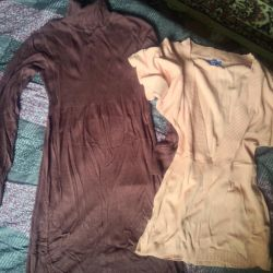 Elbise - Boğazlı ve ceket mayolu polo yaka