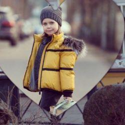 Μπουφάν και καπέλο, κολάρο (χειμώνας) Gulliver 122 γάντια