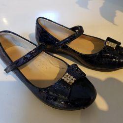 Ayakkabı YENİ çocuk verniği