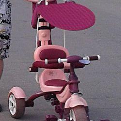 Bir kız için bir bisiklet, az kullanılmış, iyi sırayla