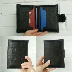 Organizer for documents! Genuine Leather