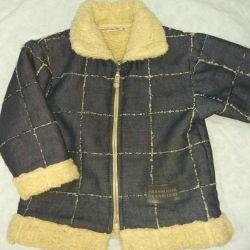 Çocuklar için ceket sıcak kot