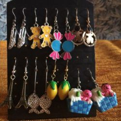 Earrings, price for all